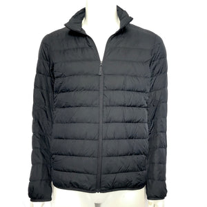 Uniqlo Men's Ultra Lightweight Puffer Jacket Navy Blue Sz M-infinitote.com