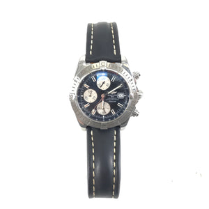 BREITLING Chronomat Evolution A13356 Black Dial Automatic Men's Watch-infinitote.com