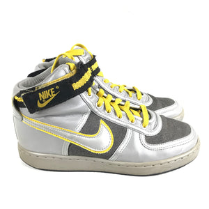 Nike Women's Vandal High Silver Yellow Sneakers Sz 7.5 315057-001-infinitote.com