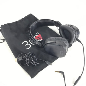 LSTN Sound Co 360 Headband Noise Cancelling Wireless Bluetooth Headphones - Black-infinitote.com