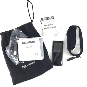 Sylvania SMPK4065 4 GB Digital Media and MP3 Player - Black-infinitote.com