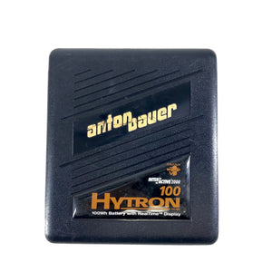 Anton Bauer Hytron 100Wh Battery RealTime Display Gold Mount Interactive 2000-infinitote.com