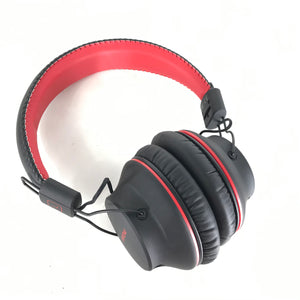 MPOW H1 Over-Ear Wireless Bluetooth Headphones 18G13 Black and Red-infinitote.com