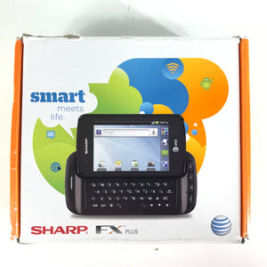 Sharp FX Plus ADS1 AT&T Cellular Sliding Keyboard Phone - Black-infinitote.com