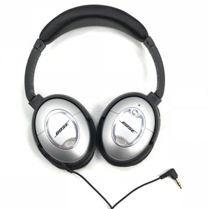 Bose Quiet Comfort 2 Headphones - Noise Cancelling - Black and Silver V5