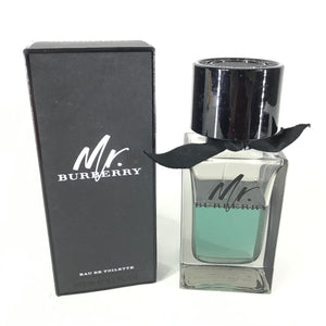70% Full Burberry Mr. Burberry Eau de Toilette 100ml 3.3oz-infinitote.com
