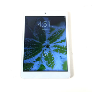 "Hipstreet i8 16GB Wi-Fi 7.85"" White Android Tablet Defect HS-785TB3-16GB-infinitote.com"