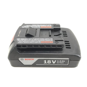 Bosch BAT611 18V 1.5Ah Rechargeable Lithium Ion Battery 27Wh-infinitote.com