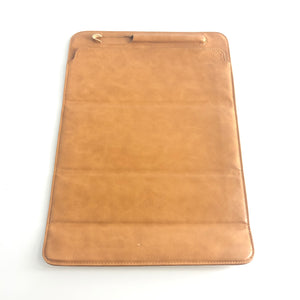 Apple Leather Sleeve for 12.9in iPad Pro with Slot for Pencil Brown OEM-infinitote.com