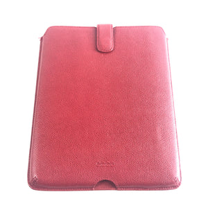 Ecco Case Sleeve for 9.7 inch iPad Pro Air - Red Saffiano Leather-infinitote.com