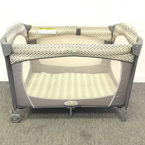 KidiWay P301 Traveller Ultra Light Baby Cot Crib Collapsible Gray-infinitote.com