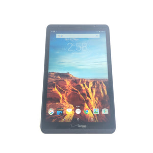 "Verizon Ellipsis 8 QTAQZ3 8"" 16GB Wi-Fi 4G LTE Verizon Black Android Tablet-infinitote.com"