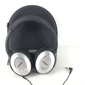 Bose QuietComfort 2 Headphones - Noise Cancelling - Black and Silver V3-infinitote.com