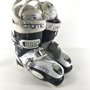 Atomic Live Fit 65 Ski Boots 299mm 25.0 / 25.5 - White and Black-infinitote.com