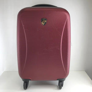 "Heys 'Lunar' Expandable Hardside Spinner 22"" Carry On Luggage Red-infinitote.com"
