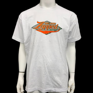 Full Send Zapped Division T-Shirt White-infinitote.com