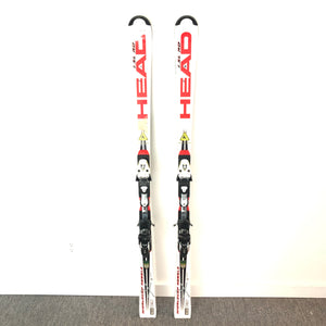 Head Worldcup Rebels I.SL RD 165 cm Skis with Freeflex Pro Bindings-infinitote.com