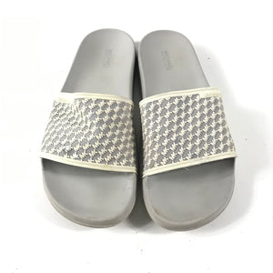 Michael Kors Women's Cement Gray Slides Sandals Sz 6.5-infinitote.com