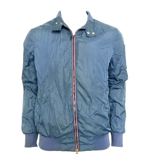 Moncler Darlan Men's Windbreaker Lightweight Jacket Blue Sz 4-infinitote.com