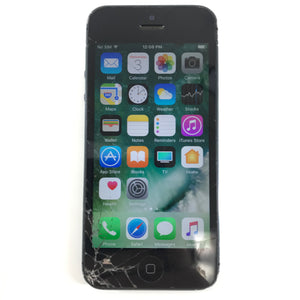 Apple iPhone 5 A1428 16GB Locked to Bell iOS Smartphone Black Slate R-infinitote.com