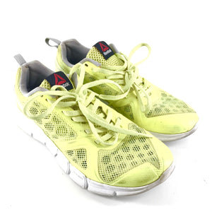 Reebok Women's Hexalite Tr AR0532 Lemon/Grey/White Running Shoes Sz 6.5-infinitote.com