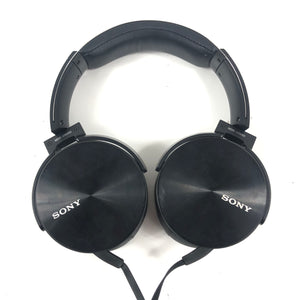 Sony MDR-XB950 Extra Bass Stereo Headphones Black On-Ear Wired-infinitote.com