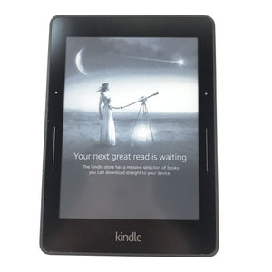 Amazon Kindle Voyage eReader (7th Generation) - 2GB, Wi-Fi. 6in - Black