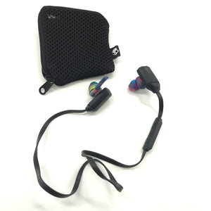 Skullcandy xtFree Wireless Bluetooth In Ear Earbuds - Black and Tiedye-infinitote.com