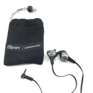 Monster iSport Strive Earbuds - Silver and Black-infinitote.com