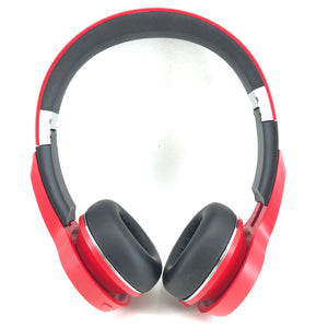 Monster Clarity HD On Ear Sound Isolating Wireless Bluetooth Headphones - Red-infinitote.com