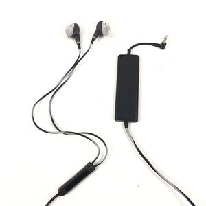 Bose QuietComfort 20i Black/Brown Noise-Cancelling Earphones Earbuds QC20i V2-infinitote.com