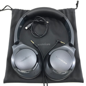 SoundCore Life Q20 A3025 Bluetooth Wireless Over-Ear Headphones - Black-infinitote.com