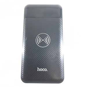 Hoco J11 Mobile Power 10000mAh External Battery Charger with Wireless Black-infinitote.com