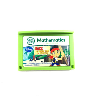 Leap Frog Explorer Jake and the Never Land Pirates Math Learning Game Leapster - Game Only-infinitote.com