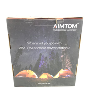 AIMTOM PowerPal X Portable Power Station 42000mAh 155Wh 110V-infinitote.com