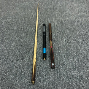 WL Sports Pool Billiard Cue 25oz Hand Made 2 Piece + Hard Case