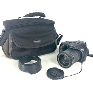 Fujifilm FinePix S Series S100FS 11.1 MP Digital Camera Black Fuji S100 FS 2574 + 28-400mm Lens + Case-infinitote.com