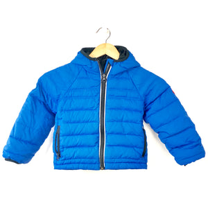 Canada Goose Kids' Sherwood Hooded Puffer Jacket Royal Blue Sz 2-3-infinitote.com