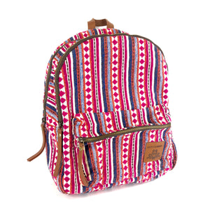"Artisan NY BoHo Woven Backpack 15"" Multi Color-infinitote.com"