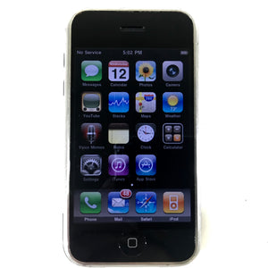 Original Apple iPhone 1st Generation A1203 - 8 GB - Unlocked - Smartphone - Black DEFECT-infinitote.com