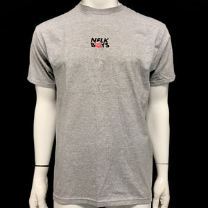 Nelk Boys T-Shirt Short Sleeve Shirt Can Logo White or Gray-infinitote.com