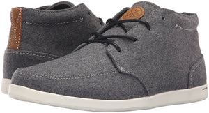 Reef Spiniker Men's Mid Wool Fashion Sneakers RF0A2U19 Grey Sz 8.5-infinitote.com