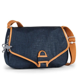Kipling Paxton BP Shoulder Bag Purse True Blue Drops-infinitote.com