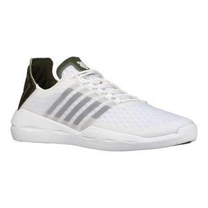 K-Swiss Men's Functional Trainer Sneakers White/Green Sz 10-infinitote.com