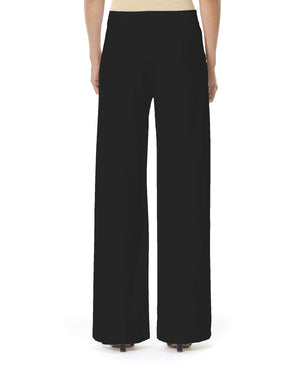 Carolina Herrera Wide Leg Virgin Wool Women's Dress Pants Sz XL-infinitote.com