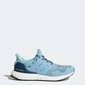 adidas Women's UltraBoost Sneaker Running Shoes Blue Sz 6-infinitote.com