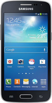 Samsung Galaxy Core LTE SM-G386W - 16 GB - Unlocked Android Smartphone - Black