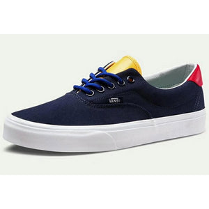 Vans Yacht Club Era 59 Navy/Red/Yellow Sneakers Shoes Sz M7.5 / W9-infinitote.com
