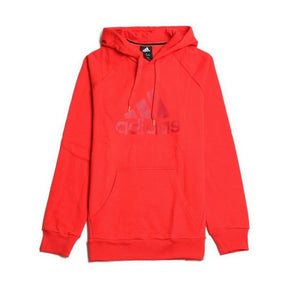 Adidas Essentials Men's Red Logo Pullover Hoodie Sz S W63098-infinitote.com