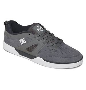 DC Shoes Men's Matt Miller Suede Sneaker Gray Sz 9-infinitote.com